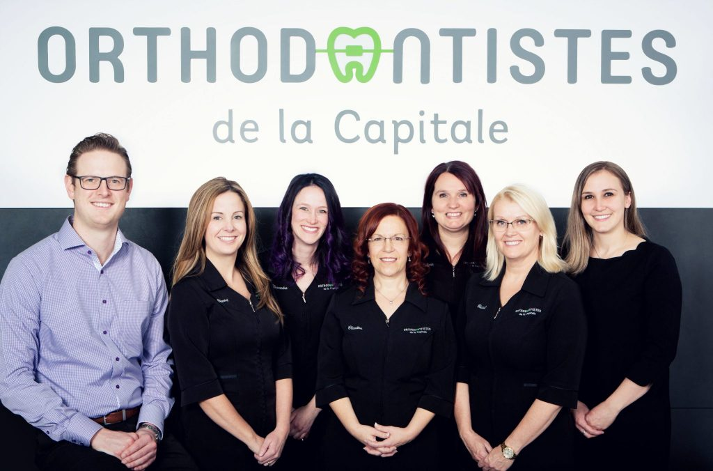 Photo de l'équipe de la clinique Orthodontistes de la Capitale